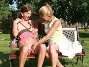 Outdoor sex with mom and sons gf