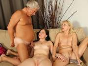 Threesome with the BF's parents