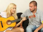 Guitar playing brother fucks his GF