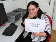 Fucking a fat slut in the office