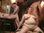 BBW group sex with pussies pounded