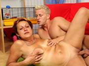Hot loving for hot mature